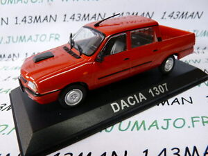 DACIA 1307 = RENAULT 12 // R12 pick up ROUGE 1//43 - DOUBLE CABINE