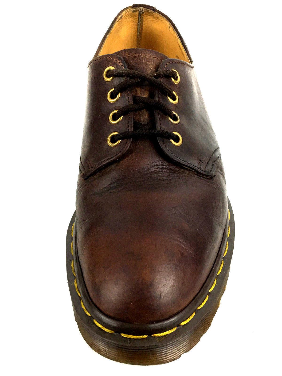 Dr. Martens Vintage Rear Classic Men's Brown Oxford Size US.8.5 UK.8 EUR.41.5