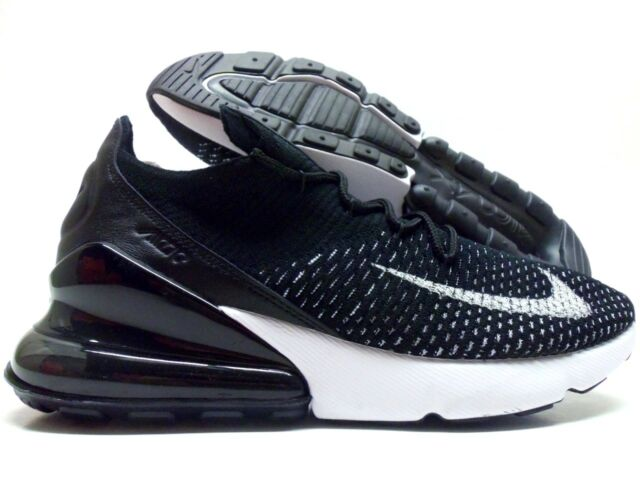 Nike AIR MAX 270 FLYKNIT Running White Shoes Women Sneakers