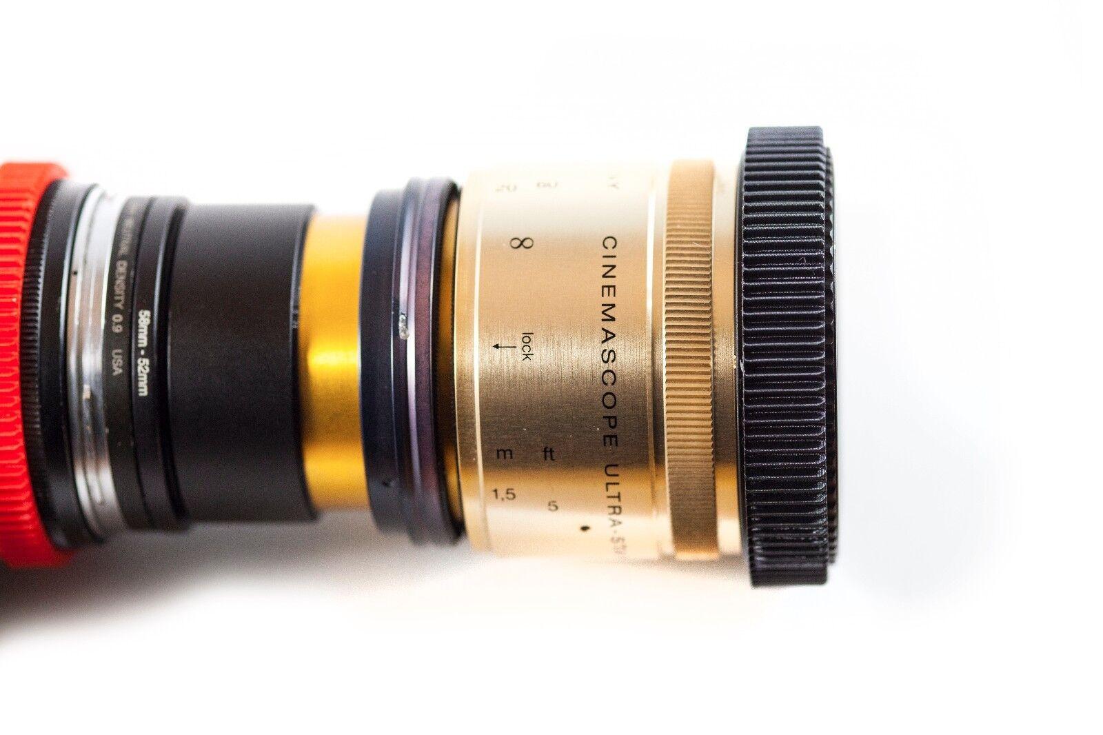 Single Focus Anamorphic Lens V1 Attachment Rangefinder 58mm for Isco KOWA  More | eBay