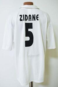31f4dfb5b REAL MADRID 2002 2003 HOME FOOTBALL SHIRT JERSEY ADIDAS  5 ZIDANE ...