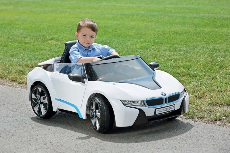 Elektroauto BMW i8 Spyder Cabrio Elektro Kinderauto Kinderfahrzeug Kinder 527-30