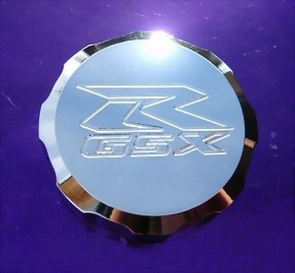 CHROME Suzuki GSXR Brake Fluid Reservoir Cap GSX-R 250 600 750 1000 1100