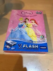 Vtech-V-Flash-Disney-Princess-The-Crystal-Ball-Adventure-Game-NEW-6-8-years