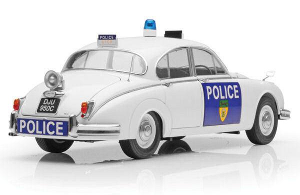 Model-icons 999008 Jaguar Mk.ii Modelo coche de policía de Leicestershire & Rutland 1 18 Th