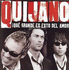Cafe Quijano Que Grande Es Esto Del Amor CD ***NEW***