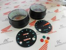Honda CB 750 Four K0 Gauge Covers Face Plates Pilot Lamps Speedometer Tacho MPH