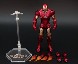 ZD-Spielzeug-Geburt-Iron-Man-MK-3-Mark-III-7-039-034-Action-Figur-Marvel-Geburtstagsgeschenk