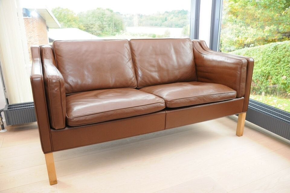 brugt 2 personers sofa