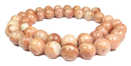 Rouge bandes Jaspis boules 6 MM ou 10 mm gemme perles strang