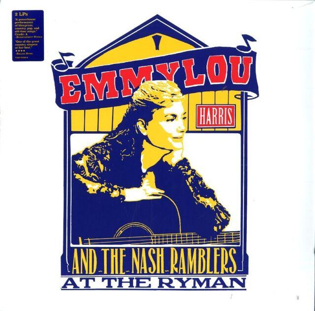 Harris Emmylou And The Nash Ramblers At The Ryman 2LP Vinilo Nuevo Sellado