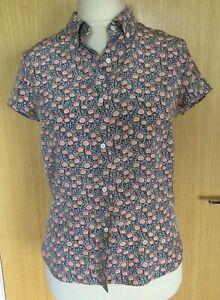 Joseph-Ladies-Silk-Blouse-Top-10-12-Floral-Summer-M-Casual-Shirt-Ditsy-Work