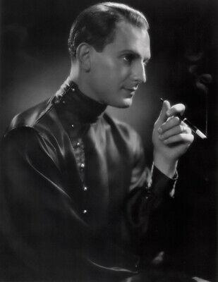 Movie Star Portrait Poster Joseph Schildkraut