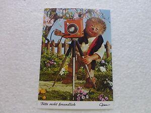 Postkarte-AK-Mecki-Nr-468-Bitte-recht-freundlich