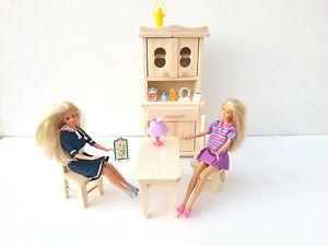 Mobili Per Bambole In Legno : Giocattolo di legno mobili per bambole alla moda naturale pinewood