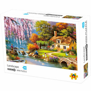 Mini-Puzzles-1000-Pieces-Assembling-Difficult-DIY-Family-Adult-Kids-Games-Jigsaw