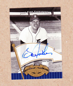 Bill-Freehan-signed-2005-Upper-Deck-Past-Time-Sig-certified-card-Detroit-Tigers