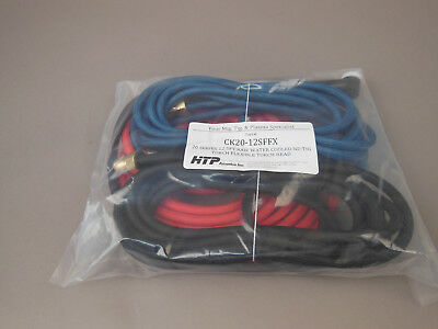 12.5/' WP-20 Water Cooled Tig Torch Package Miller Syncrowave 250 350 CK20-12SF