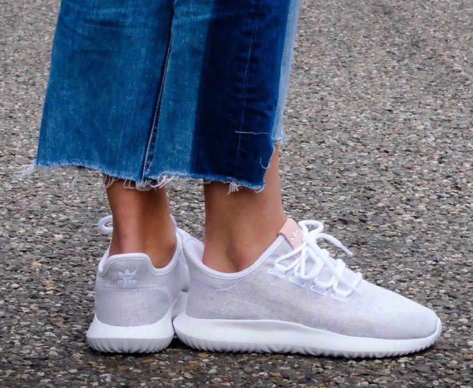 Adidas Tubular Shadow BY9735  women's Running shoes White Melange Knit