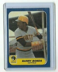 1986-Fleer-U-14-Barry-Bonds-Pittsburgh-Pirates