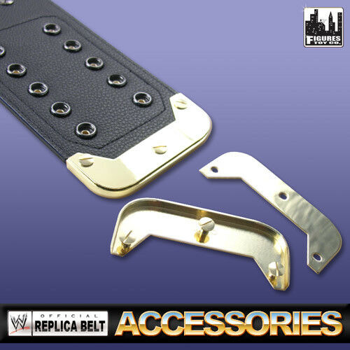 Gold Belt Tip for Replica Wrestling Belts