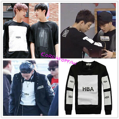 Exo kris BTS Bangtan Boys got7 Kpop sweater unisex jumper Kpop New