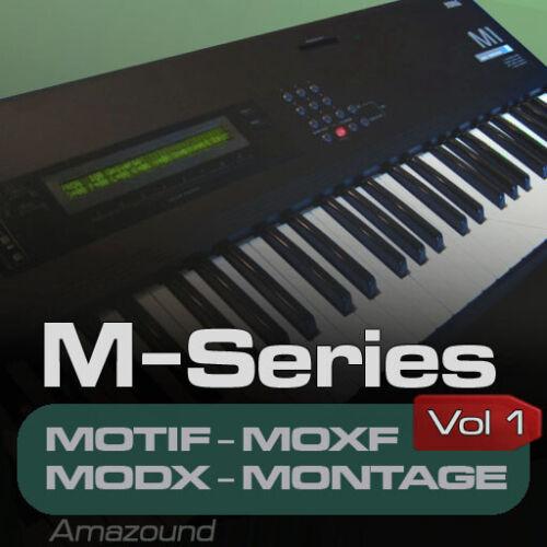 KORG M1 SAMPLES for YAMAHA MOTIF ES XS XF MOXF MODX MONTAGE KEYMAPS READY PLAY