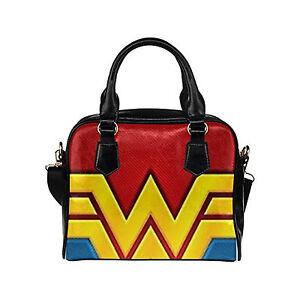 Image Is Loading Custom Women 039 S Handbag Wonder Woman Fashion