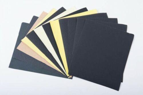 Körnung 280x230 cm Wasserschleifpapier Schleifen 50 Blatt Schleifpapier versch