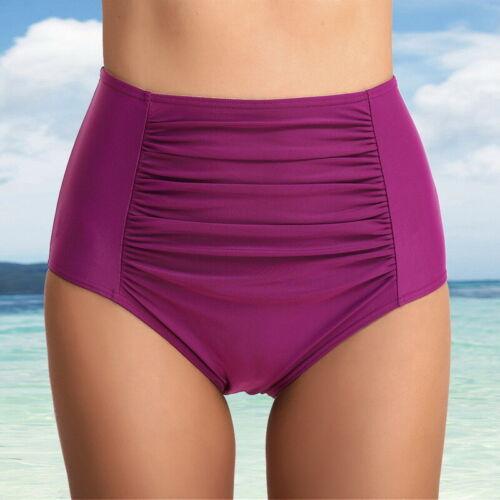 Women High Waist Bikini Tankini Bottom Swim Briefs Swimming Pants Shorts Bottom