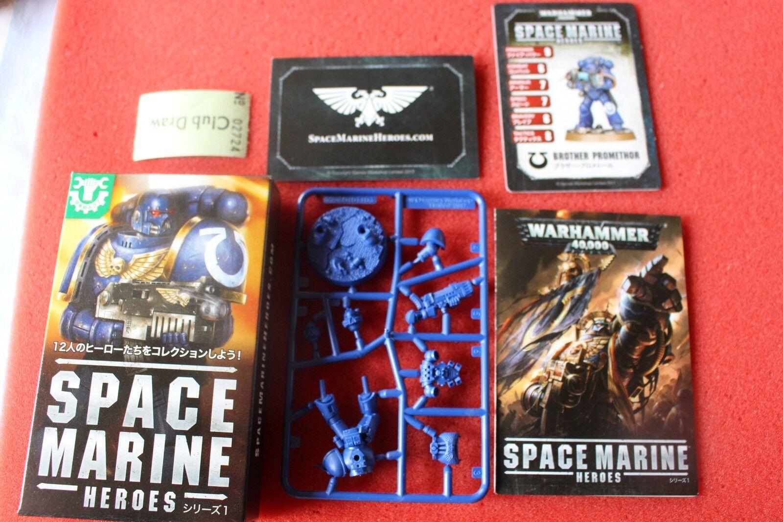 Space Marine Heroes Bredher Promethor Japan Exclusive Games Workshop New Marines