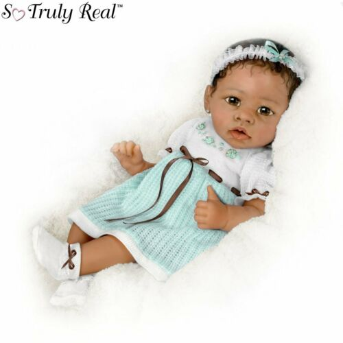 """Ashton Drake """"Alicia"""" Gentle Touch-Activated Interactive Baby Girl Doll NEW Gift"""