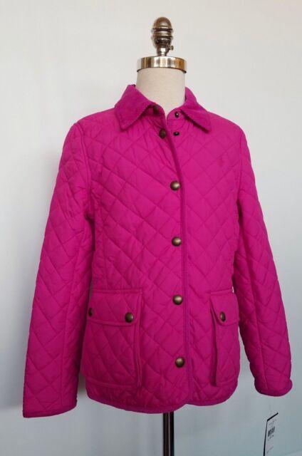 26ba65fe6 Ralph Lauren Girls Quilted Barn Jacket Pink L 12-14 for sale online ...