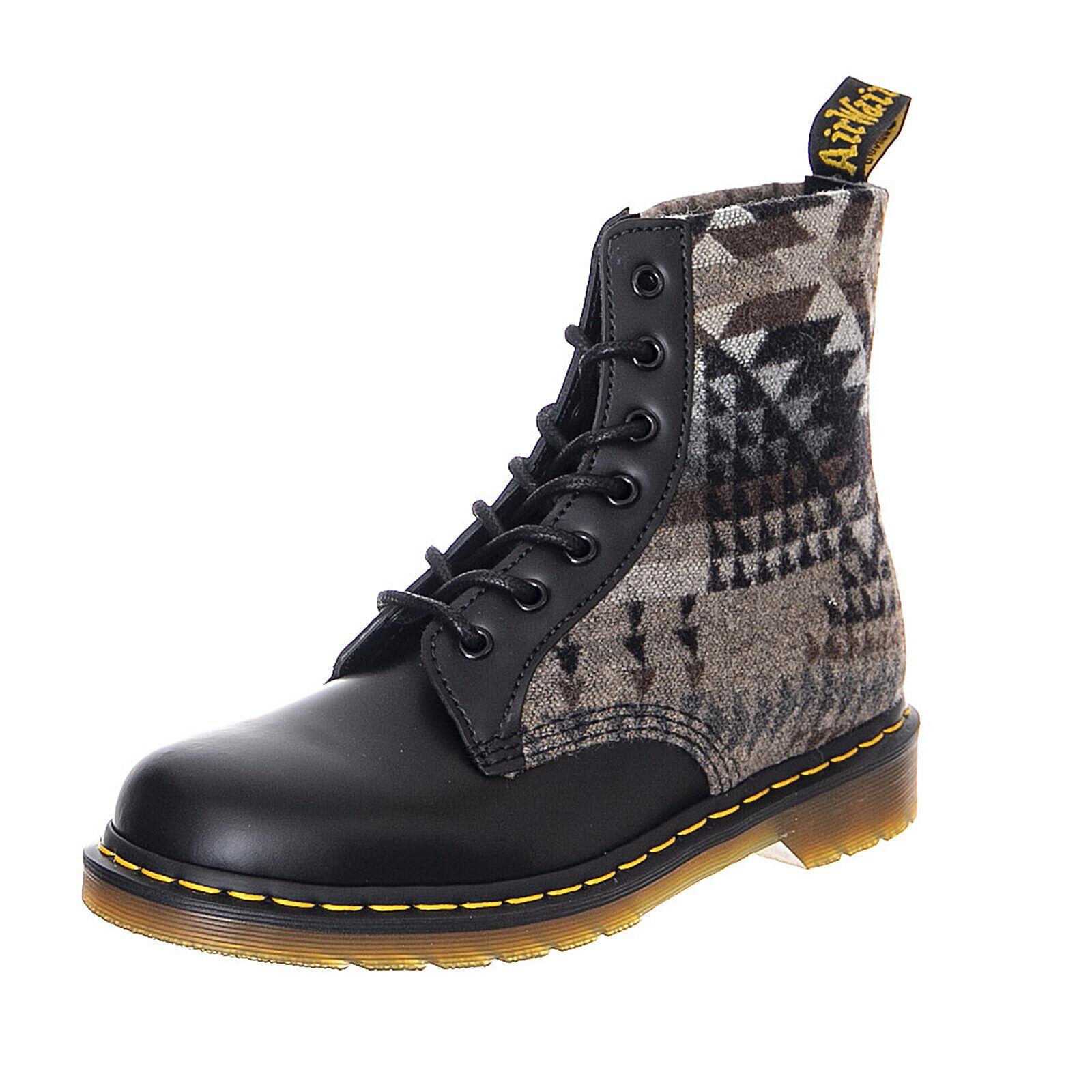 e22827d1c8 Dr.Martens X Pendleton Black Black Black Sooth Pagosa Springs - Combat  boots Men s Black ...