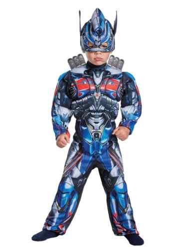 Toddler Boys Transformers Optimus Prime Muscle Torso Costume
