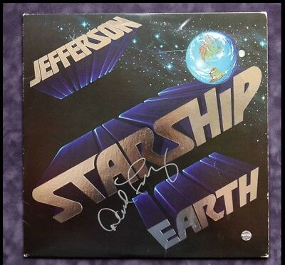 Signed Record Album Ad2 Coa 2019 Latest Style Online Sale 50% Gfa Jefferson Starship David Freiberg