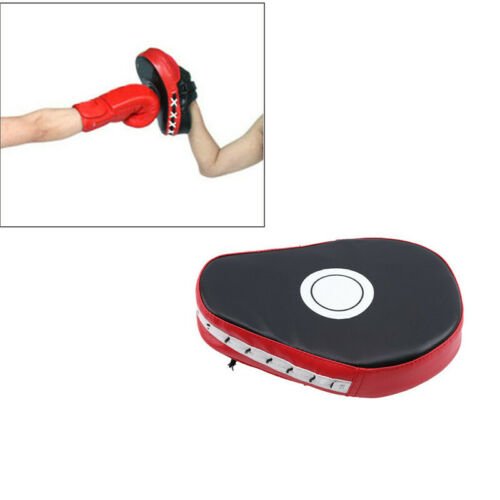 Curved Focus Pads Mitts Training Hook Jab Punch Bag Kick Boxing Accessories LC