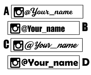 Custom-Instagram-Personalised-Name-Lettering-Car-Van-Window-Decal-Sticker-200mm
