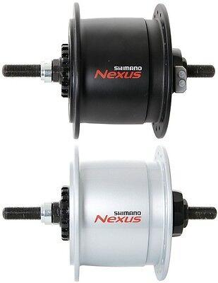 Standard Silber Shimano Nabendynamo Nexus DH-C6000-3R 3W Rollenbremse 36L