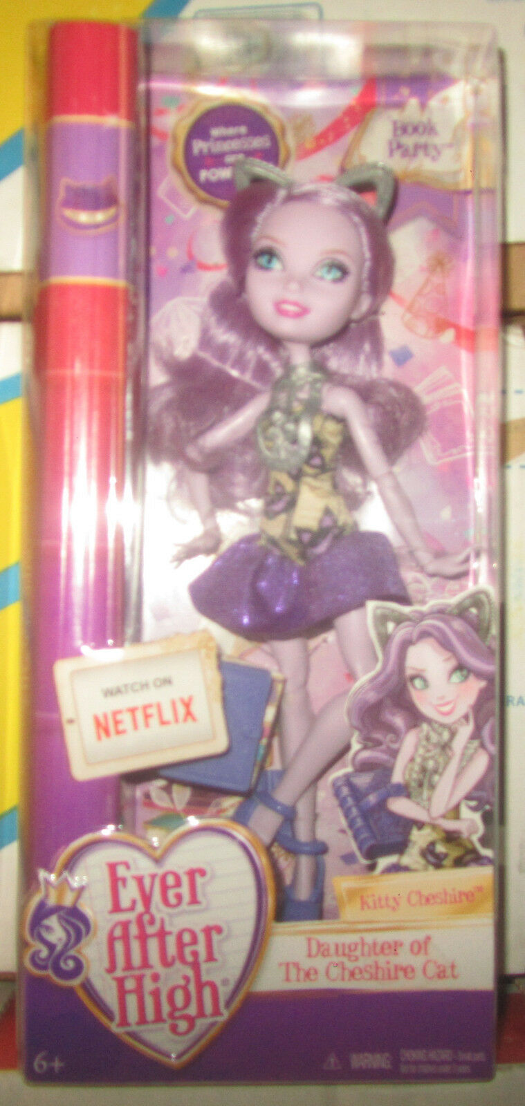 Ever After High Book Party Kitty Cheshire Netflix SPEDITO