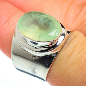 Prehnite-925-Sterling-Silver-Ring-Size-7-Ana-Co-Jewelry-R46762F