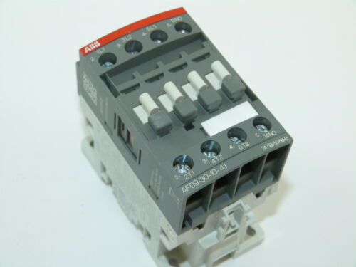 ABB AF09-30-10-41 3p 9a 24-60v Contactor NEW 1yr Warranty