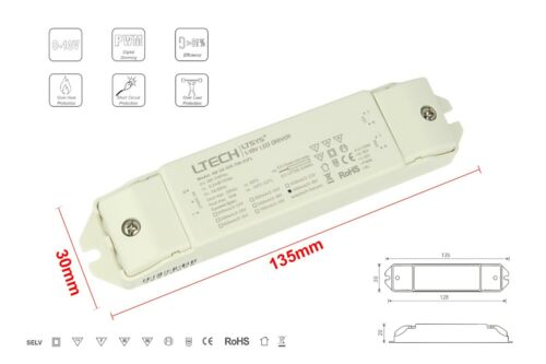 Led Driver CC Dimmable 0-10V 1-10V PWM 10W Adjustable From 350mA up to 700mA
