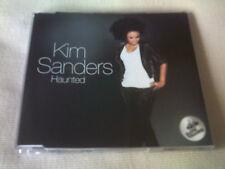 KIM SANDERS - HAUNTED - 2012 CD SINGLE