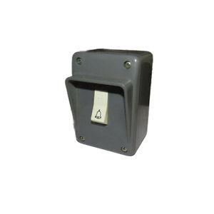 Pulsante-campanello-GGF-per-esterni-grigio-scatola-simbolo-campanello