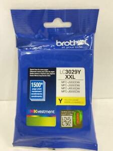 Brother Yellow XXL Ink Cartridge GENUINE OEM LC3029Y