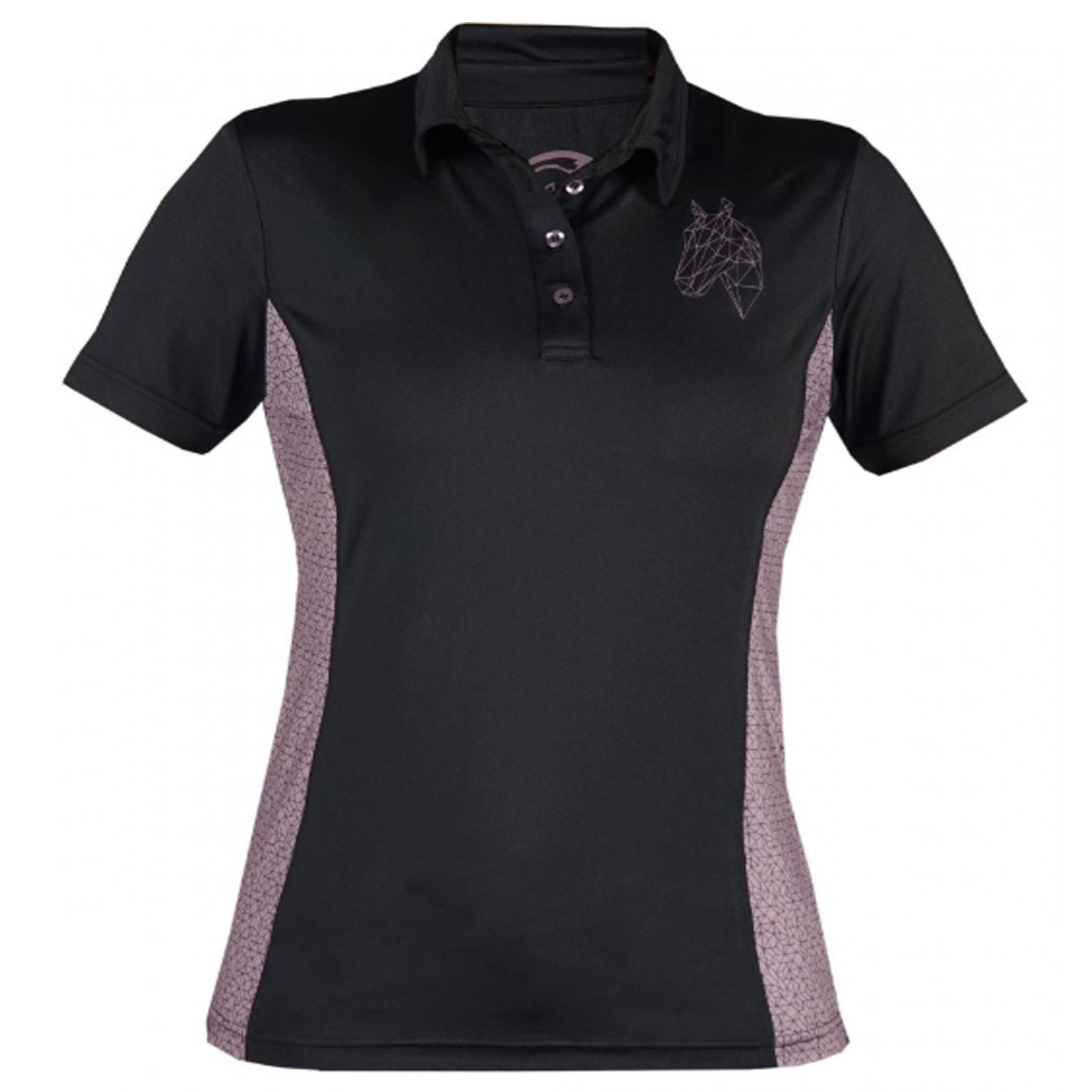 Horka Lyra Polo Shirts - Ladies Horse Riding Comfortable Stable Yard Breathable