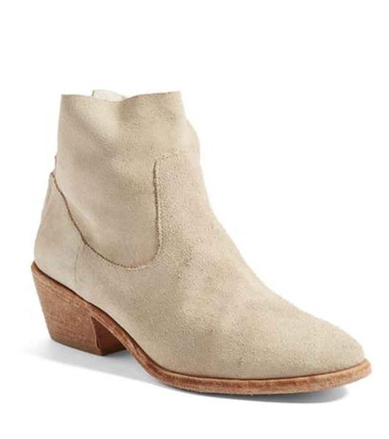 nuevo   Joie Adriá botas De Gamuza En Color Café con Leche, tamaño 7.5
