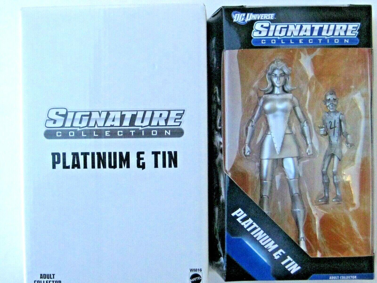 2012 DC Universe Signature Collection Platinum & Tin