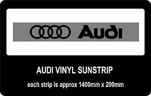 Audi-sun-strip-window-banners